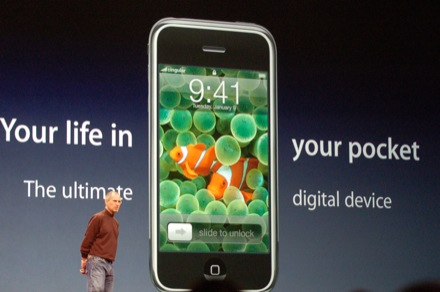 Steve Jobs Keynote Apple iPhone