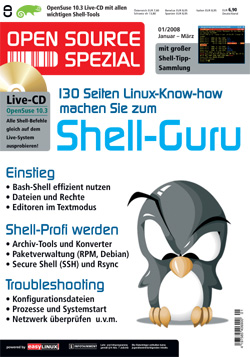 Open Source Spezial - Linux Shell Guru